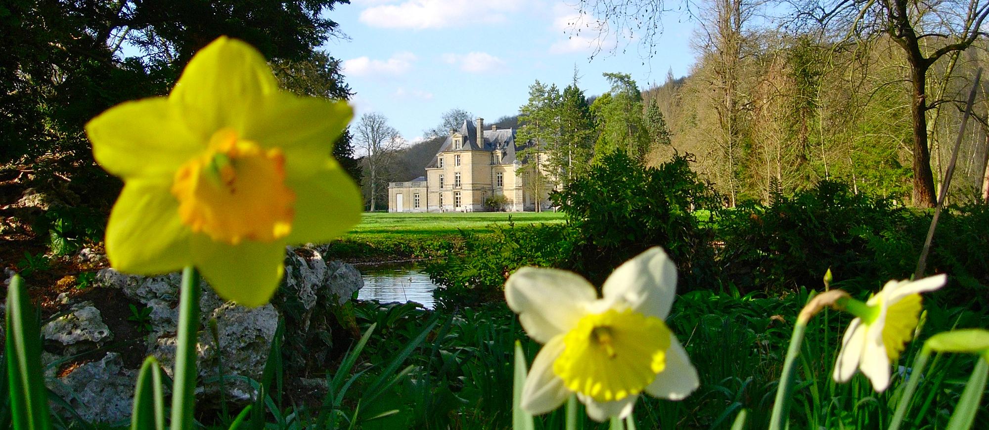 Chateau d'Acquigny - Normandie (H.d'Esneval)