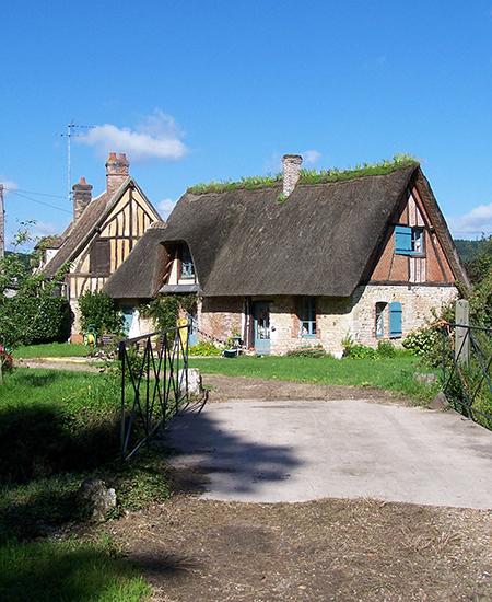 Chaumière du château d'Acquigny