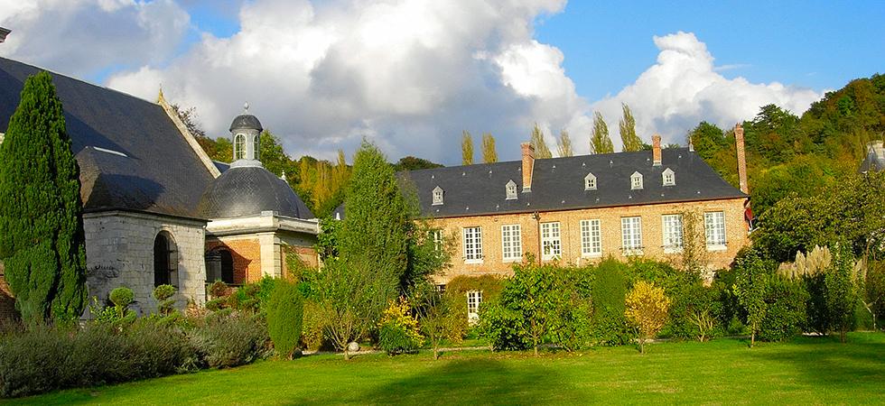 Jardin du château d'Acquigny
