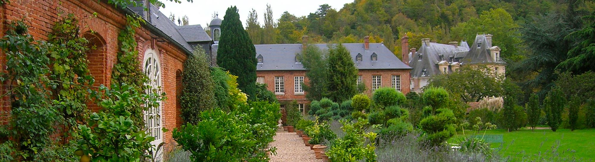 Orangerie du château d'Acquigny- Normandie (A.Morin)