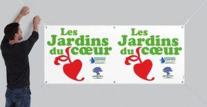 visiter les jardins du coeur, c'est aider nos hôpitaux de l'Eure et Seine-Maritime